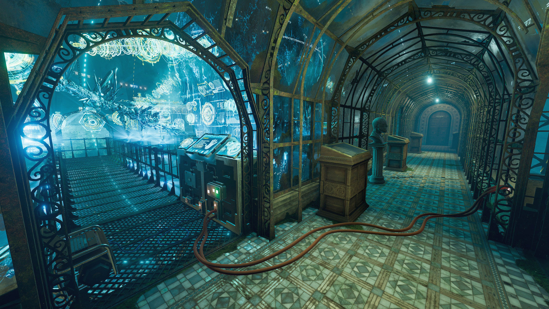 VRMark Cyan Room benchmark screenshot