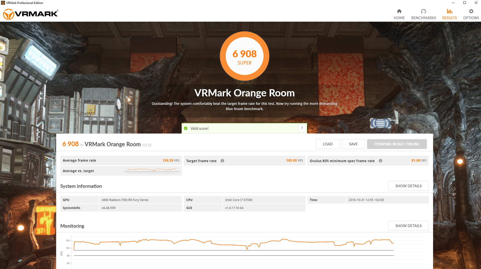VRMark - the Virtual Reality Benchmark 9